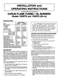 1050 1150 instructions 1050ffd & 1150ffd commercial burners carlin combustion carlin 60200 wiring diagram at virtualis.co